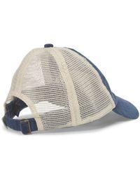 Polo Ralph Lauren   Blue Corduroy Trucker Hat for Men   Lyst