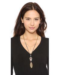 Vanessa Mooney - Multicolor The Fatima Statement Necklace - Gold Multi - Lyst