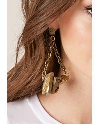 Forever 21 | Metallic Haati Chai Taja Earrings | Lyst