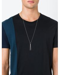 True Rocks | Metallic 'drumsticks' Necklace | Lyst