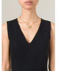 Marc By Marc Jacobs - Metallic 'It'S Not Rocket Science' Necklace - Lyst
