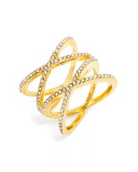 BaubleBar - Metallic Gamma Ring - Lyst