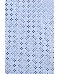 Armani - Blue Silk Tie for Men - Lyst