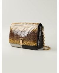 Proenza Schouler - Yellow Courier Small Python Skin Cross-Body Bag - Lyst