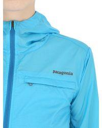 Patagonia - Blue Light Houdini Running Light Jacket - Lyst