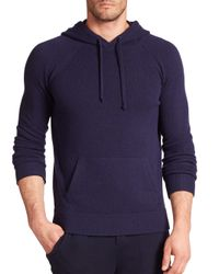 Polo Ralph Lauren - Blue Featherweight Cashmere Hoodie for Men - Lyst