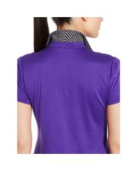 Ralph Lauren Golf | Purple Tailored Golf-fit Polo Shirt | Lyst