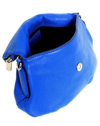 Marc Jacobs Blue Mini Q Natasha Crossbody Bag