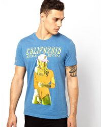 Rock Revival | Blue Girl Tshirt for Men | Lyst