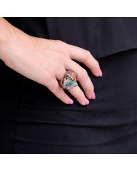 Wendy Yue | Blue Opal Leopard Ring | Lyst