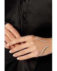Ana Khouri - Metallic Stem 18-Karat Rose Gold Diamond Hand Bracelet - Lyst