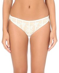 La Perla | Natural Floralia Mesh Brazilian Briefs - For Women | Lyst