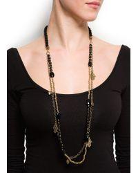 Mango - Black Necklace B Quiros C - Lyst