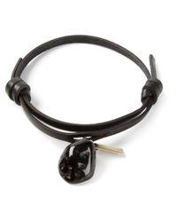 Ann Demeulemeester | Black Kenya Bracelet | Lyst