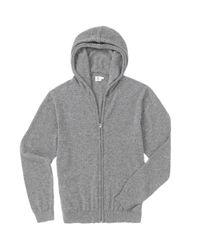 Sunspel - Gray Men's Cashmere Hoody for Men - Lyst
