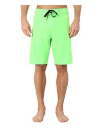 Hurley | Green Phantom One & Only Boardshort for Men | Lyst