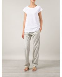Sofie D'Hoore - White 'Tag' T-Shirt - Lyst