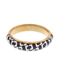 Diane von Furstenberg | Metallic Chain Link Bangle | Lyst