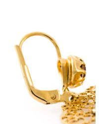 Gas Bijoux - Metallic 'Flocon' Earrings - Lyst