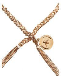 Carolina Bucci - Pink Rose Gold Plated Silver Lucky Bracelet - Lyst