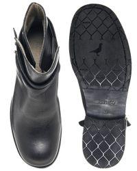 Rokin | Black Legion Leather Boots for Men | Lyst