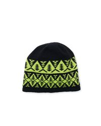 Polo Ralph Lauren - Green Geometric Wool-blend Beanie for Men - Lyst
