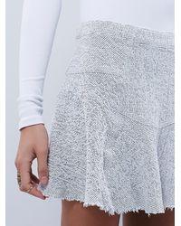 Free People - White Sunshine Smile Skirt - Lyst