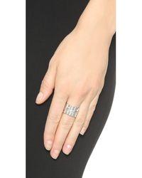 Jamie Wolf - Metallic Nycb 4 Ts Black & White Diamond Ring - Lyst