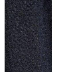 Enza Costa | Blue Ribbed Modalblend Dress | Lyst
