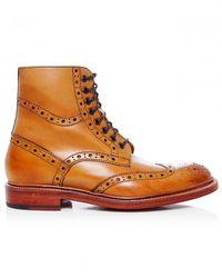 Oliver Sweeney | Brown Wren Brogue Boots for Men | Lyst