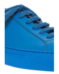 Common Projects - Blue Original Low Achilles Sneakers for Men - Lyst