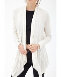 Forever 21 - Natural Classic Draped Shawl You've Been Added To The Waitlist - Lyst