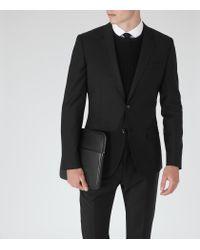 Reiss   Black George B Slim-fit Blazer for Men   Lyst
