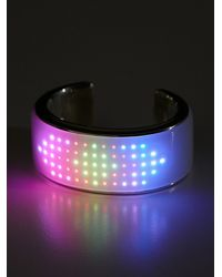 Free People - White Elemoon Tech Bracelet - Lyst