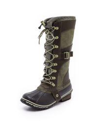Sorel   Brown 'slimpack' Riding Boot   Lyst