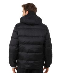 Penfield - Black Bowerbridge Down Insulated Hooded Jacket for Men - Lyst