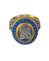 Queensbee | Metallic Shiva Ring | Lyst