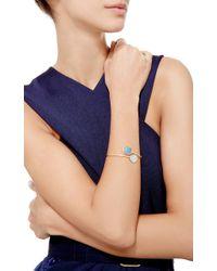 Marco Bicego   Blue Lunaria Aquamarina Cuff With Diamonds   Lyst