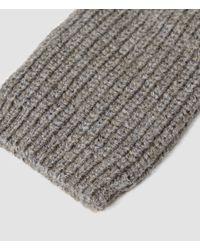 AllSaints | Gray Spinn Gloves for Men | Lyst