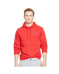 Pink Pony | Red Fleece Pullover Hoodie for Men | Lyst
