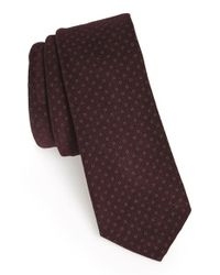 W.r.k. - Purple Dot Cotton Tie for Men - Lyst