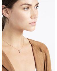 BaubleBar | Metallic Mini Horn Pendant | Lyst