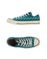 Converse Blue Low-tops & Trainers