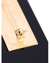 MM6 by Maison Martin Margiela | Metallic Letter Appliqué Brooch | Lyst