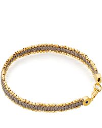 Astley Clarke | Metallic Grey Forever Changed Nugget Bracelet for Men | Lyst