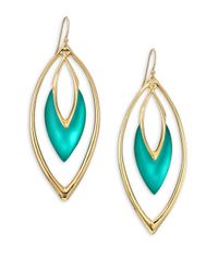 Alexis Bittar - Metallic Sport Deco Lucite Orbit Drop Earrings - Lyst