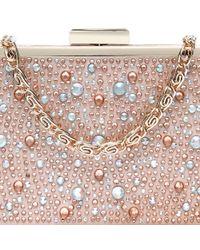 Carvela Kurt Geiger | Pink Grint Clutch Bag | Lyst