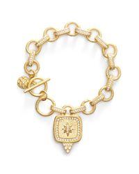 Freida Rothman | Metallic 'metropolitan' Star Pendant Chain Bracelet | Lyst