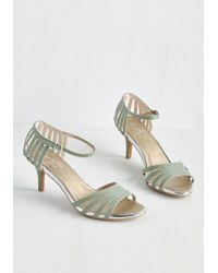 Seychelles - Green Song And Dance Heel In Gala - Lyst