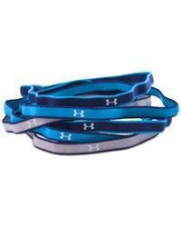 Under Armour - Blue Active Mini Headband Set - Lyst